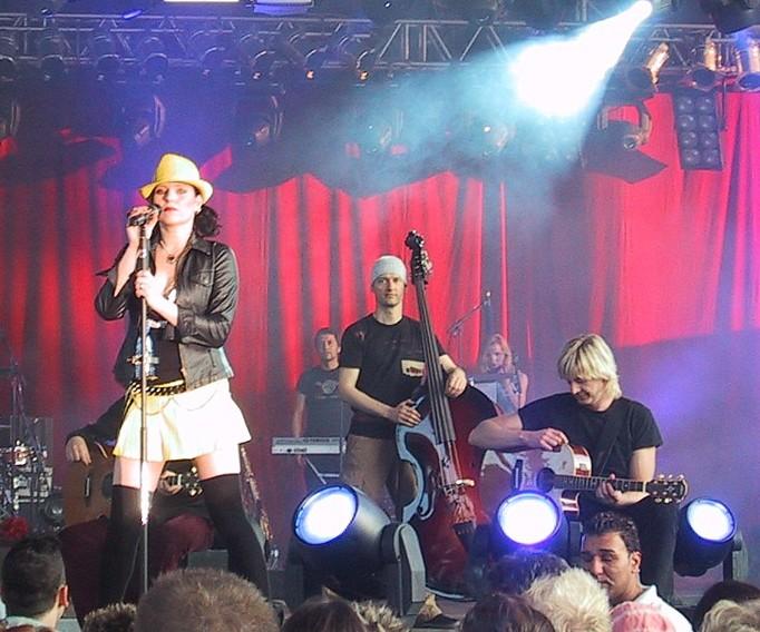 Impressionen vom Rosenstolzkonzert in Köln am 06.06.2004