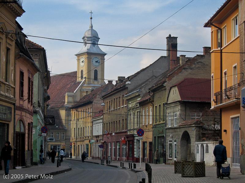Impressionen von der winterlichen Altstadt von Brasov/Kronstadt in Rumänien II