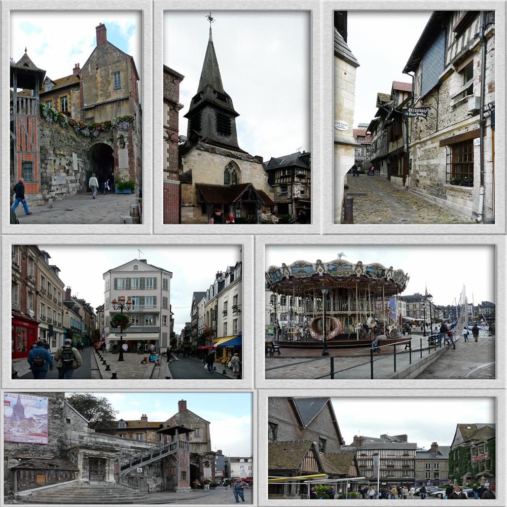 Impressionen von Honfleur - Normandie