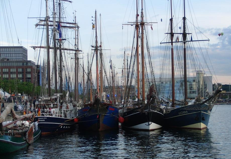Impressionen zur Kieler Woche-Schiffe1