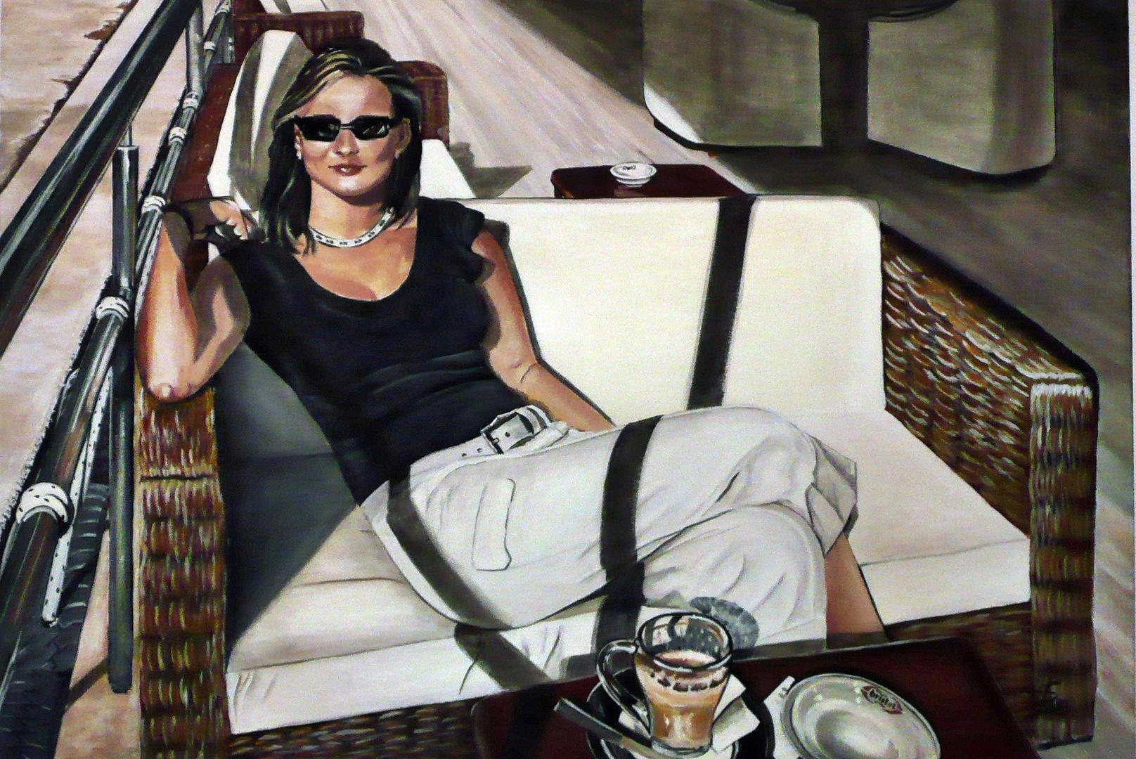 in Acryl gemaltes Summerfeeling