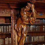 In alter Bibliothek