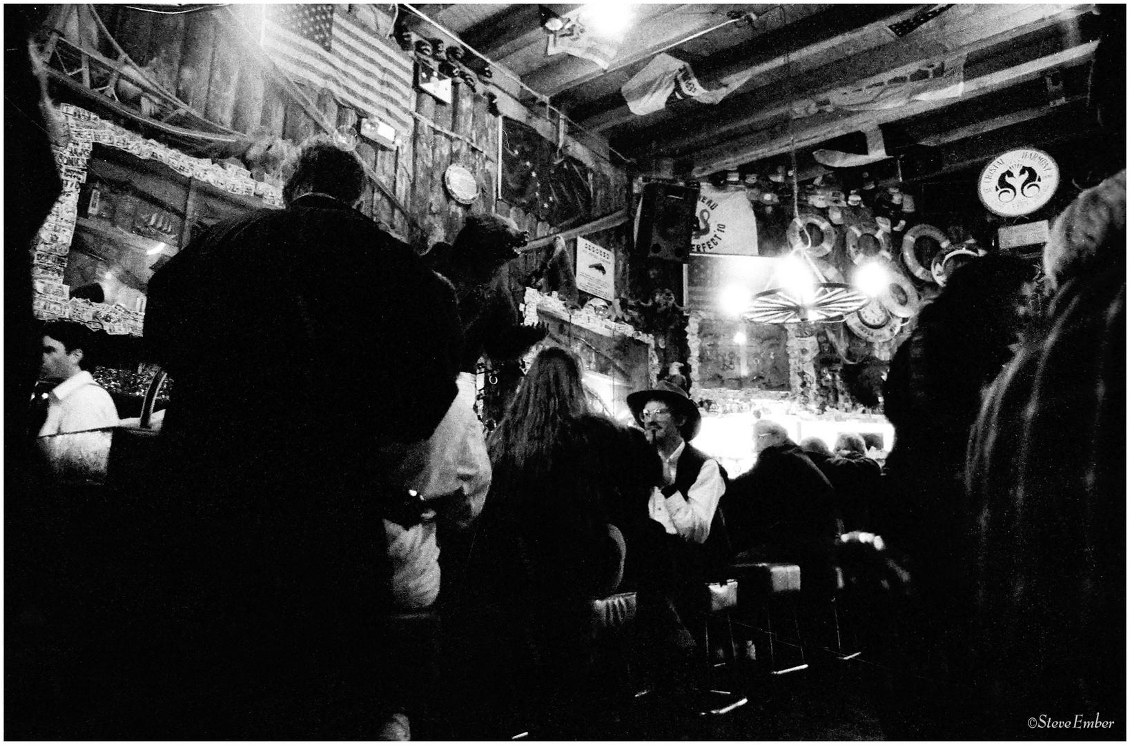 In an Alaskan Saloon