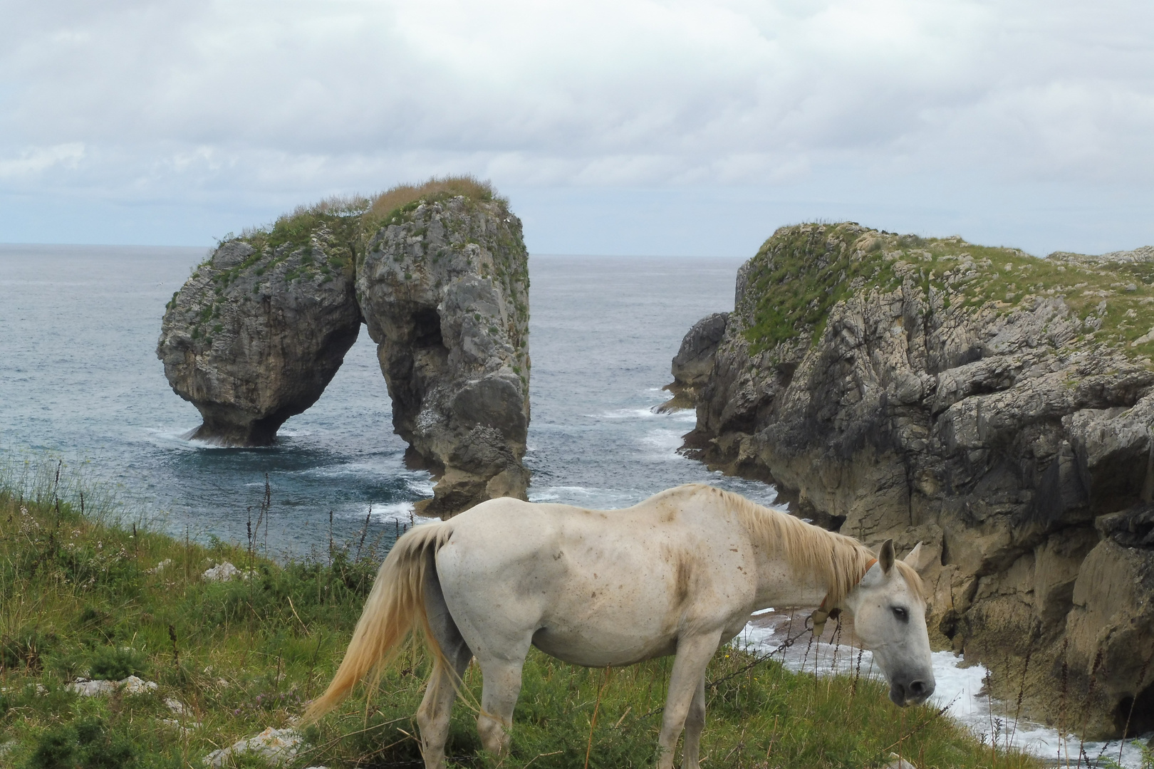 In Asturien am Meer
