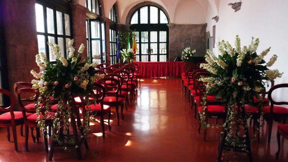 In attesa degli sposi la sala della loggia maschio for Sala degli sposi