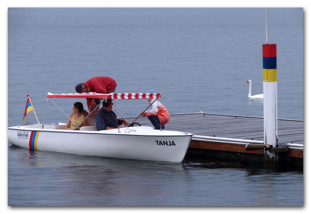 In barca con papà
