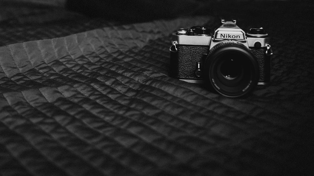 In bed with the nikon fe