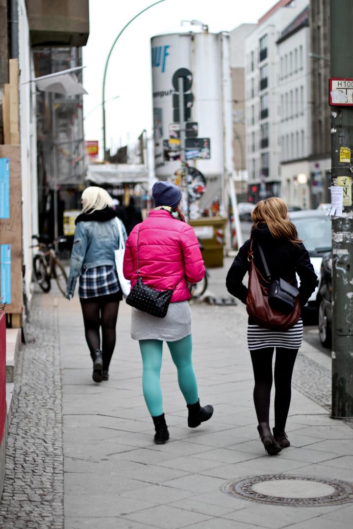 In Berlin rumschlendern