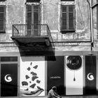 In bici a Vercelli