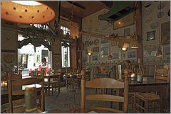 In Café 'De Waag' zu Enkhuizen.