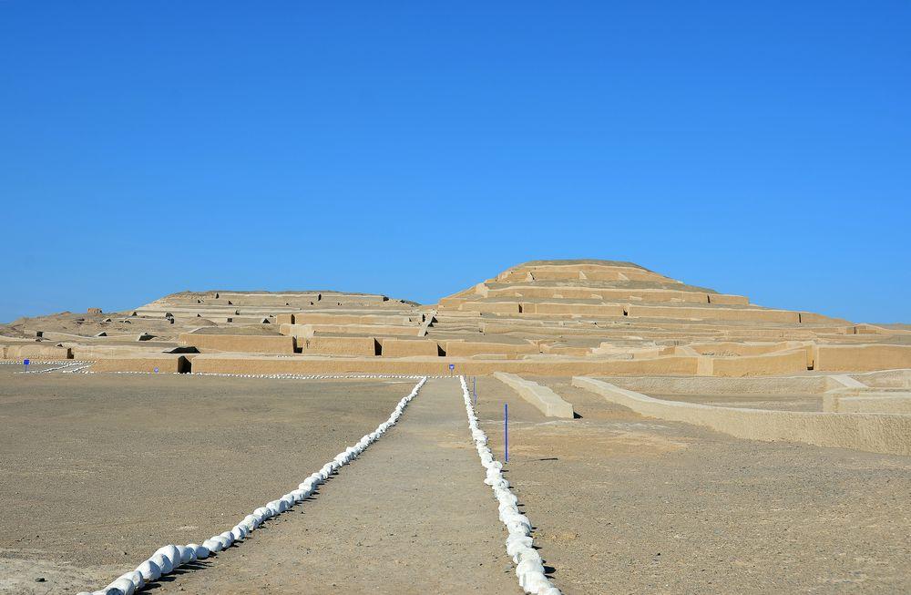 In Cahuachi, dem einstigen Kultzentrum der Nazca-Kultur