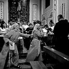 In chiesa ....