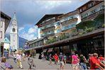 In Cortina d' Ampezzo ...