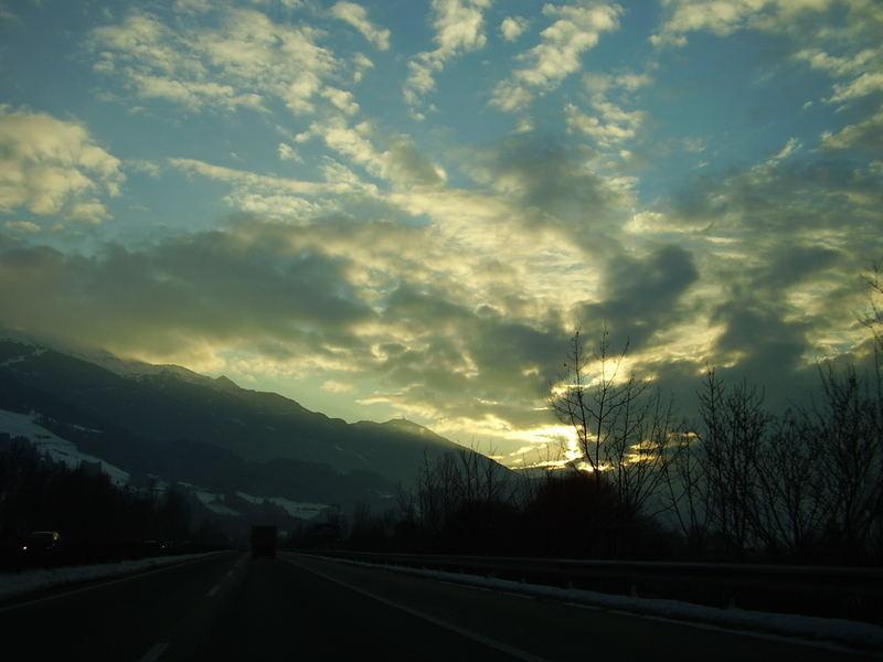 In den Alpen