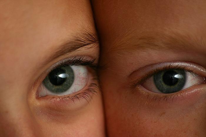 In den Augen meiner Lieben erkenne ich mich selbst.