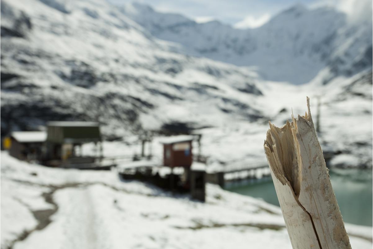 In den Bergen...