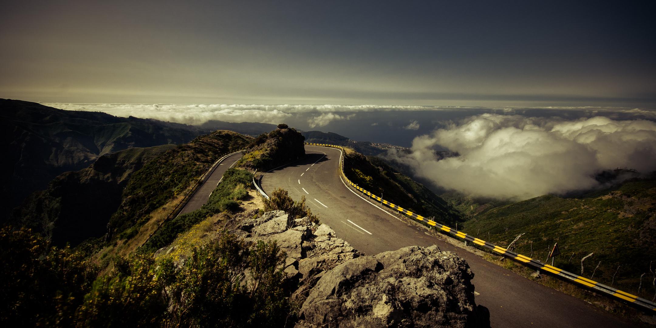 In den Bergen von Madeira
