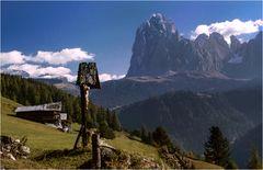 In den Bergen von Südtirol