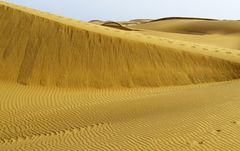 In den Dünen von Maspalomas