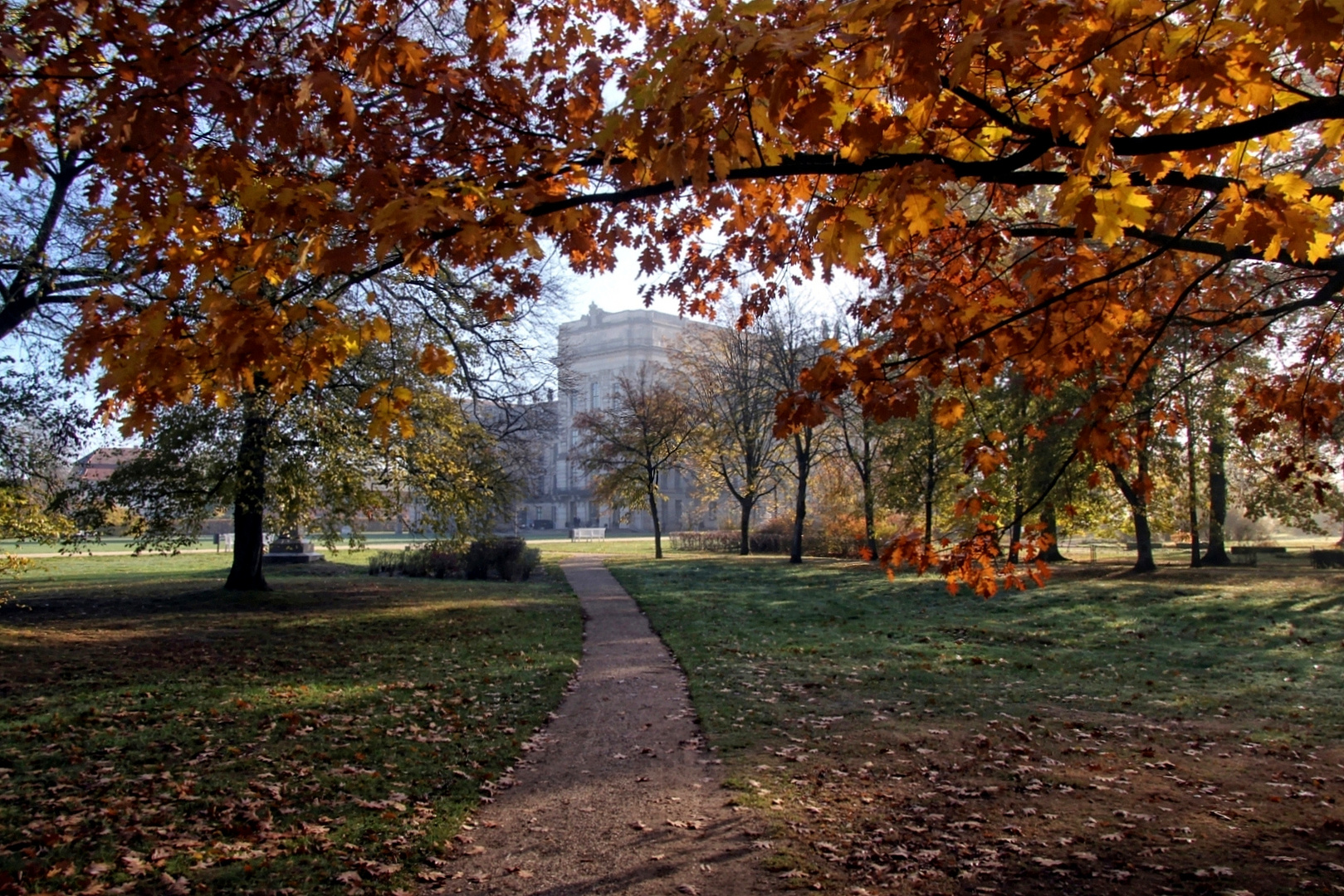 In den Farben des Herbstes ...