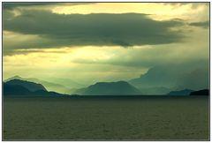 In den Fjorden in der Nähe von Florö