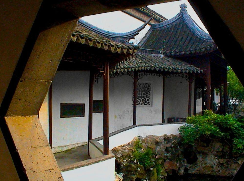 In den Gärten von Suzhou