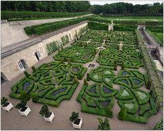 In den Gärten von Villandry III
