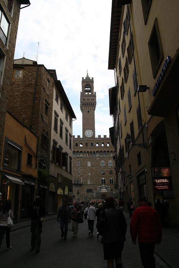 In den Gassen von Florenz