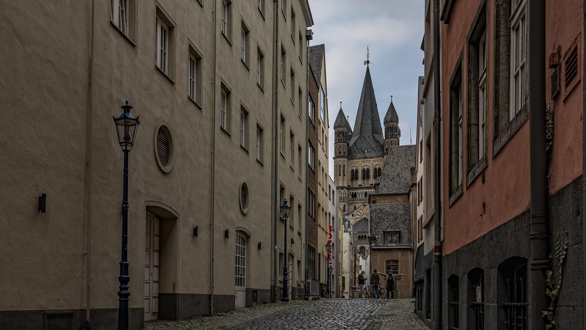in den Gassen von Köln