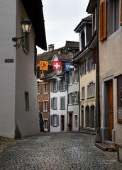 In den Gassen von Laufenburg