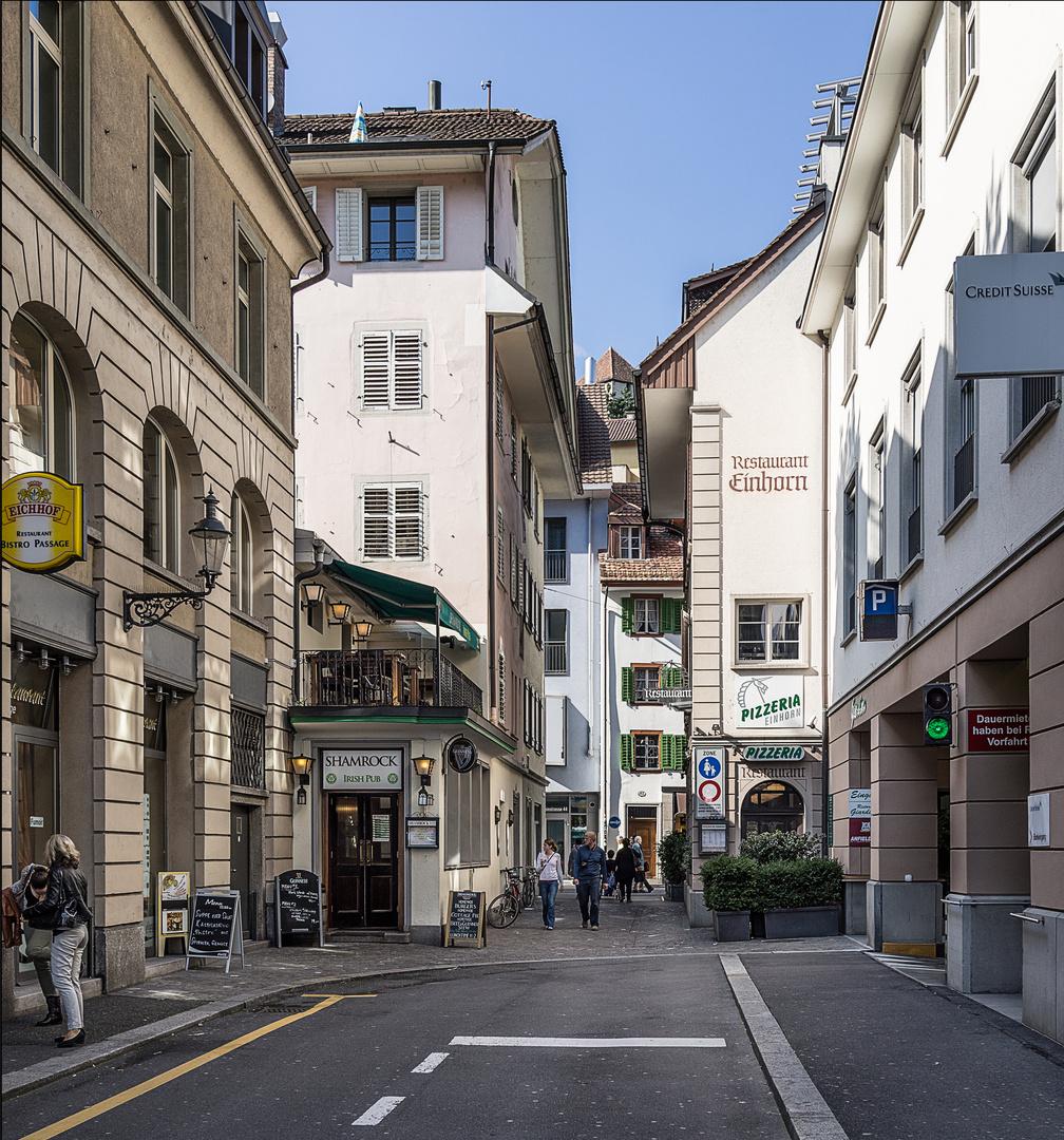 In den Gassen von Luzern
