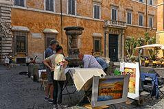 In den Gassen von Rom