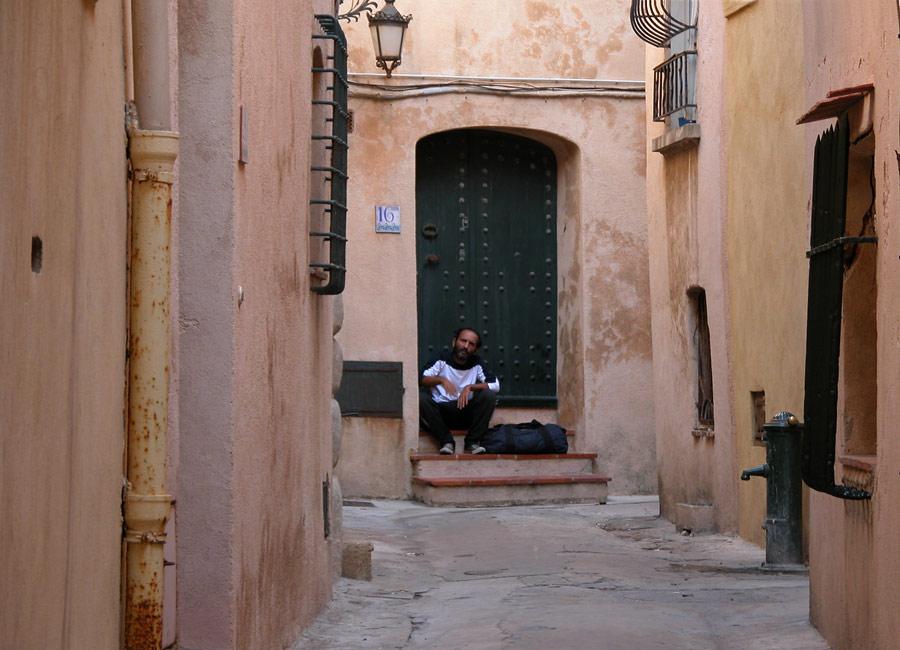 In den Gassen von St. Tropez