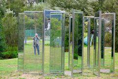 """In den """"Gläsernen Gärten"""" vom Glasmuseum Frauenau"""
