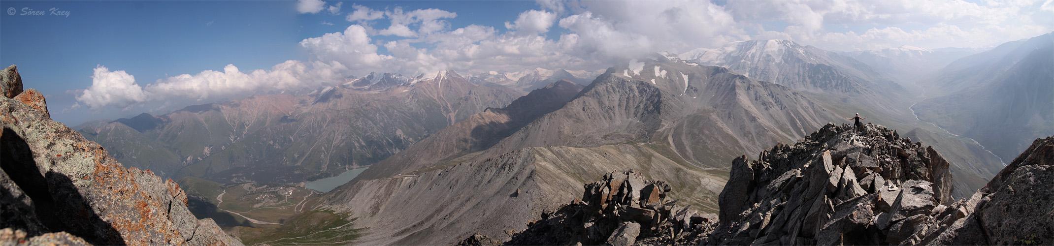 In den kasachischen Bergen