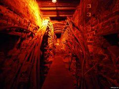 In den Katakomben der Jahrhunderthalle
