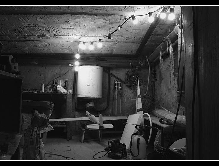 In den Keller
