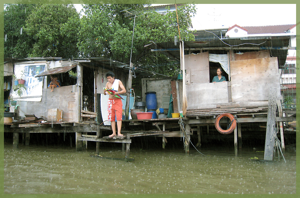 in den Klongs von Bangkok