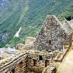 In den Ruinen von Machu Picchu 2