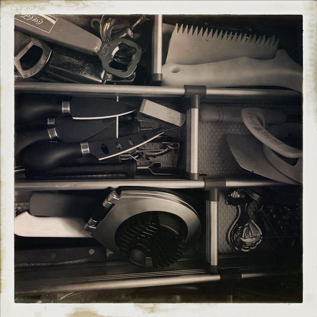 In den Schrank geschaut