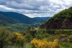 in den Spanischen Pyrenäen, westlich Andorra ( III.)