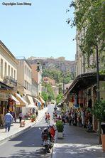 In den Strassen von Athen