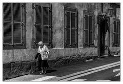 In den Straßen von Belfort