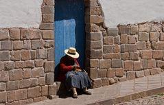 In den Straßen von Cuzco -2-