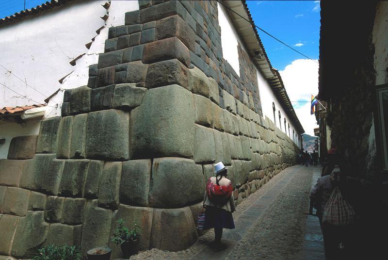 In den Strassen von Cuzco