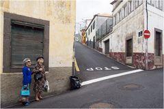 In den Straßen von Funchal