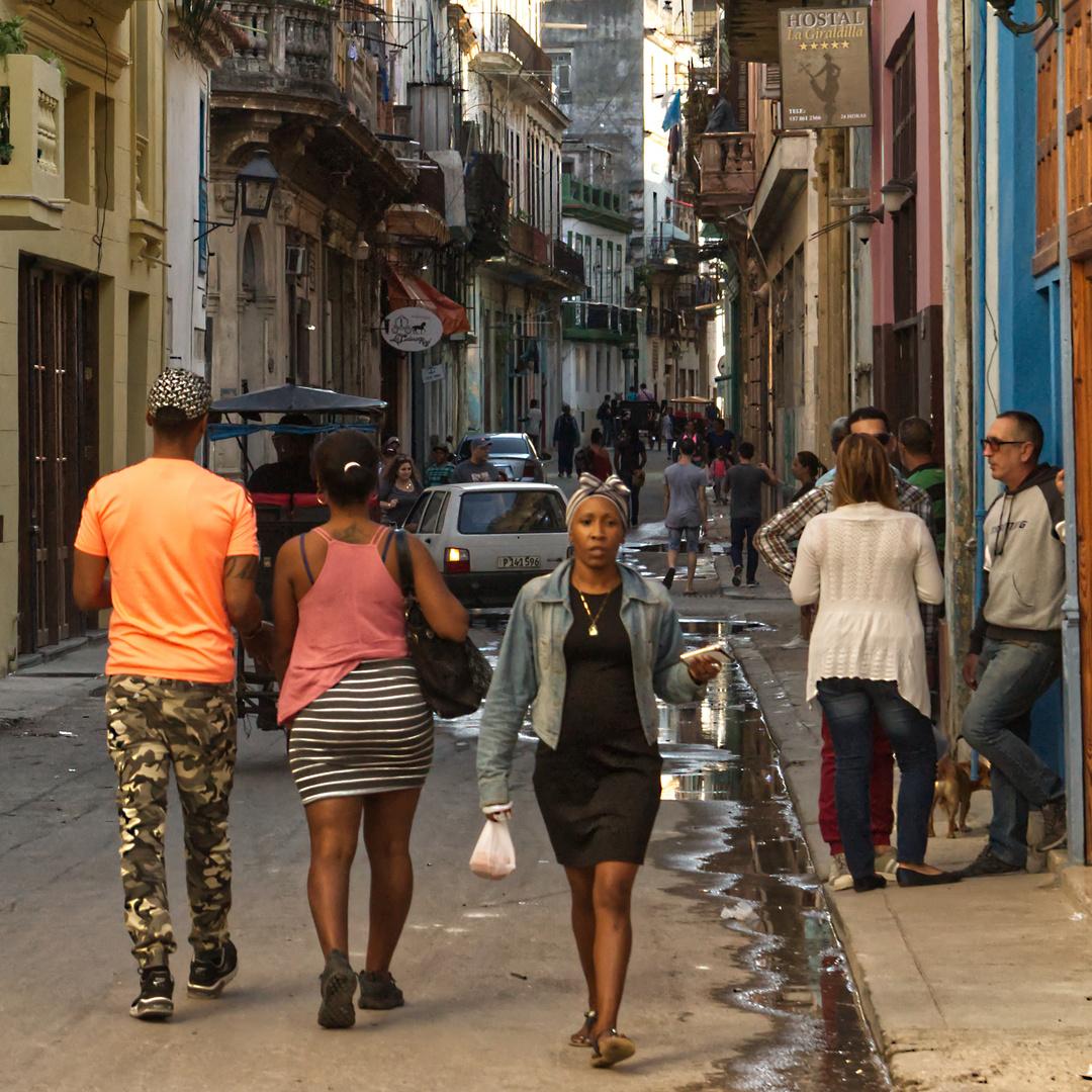 In den Strassen von Havanna