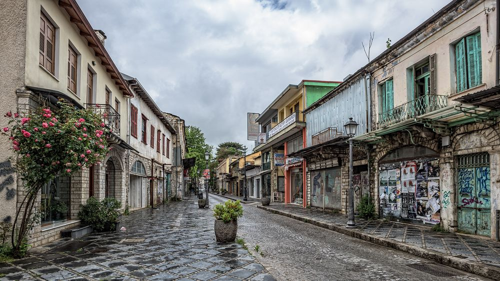in den Straßen von Ioannina