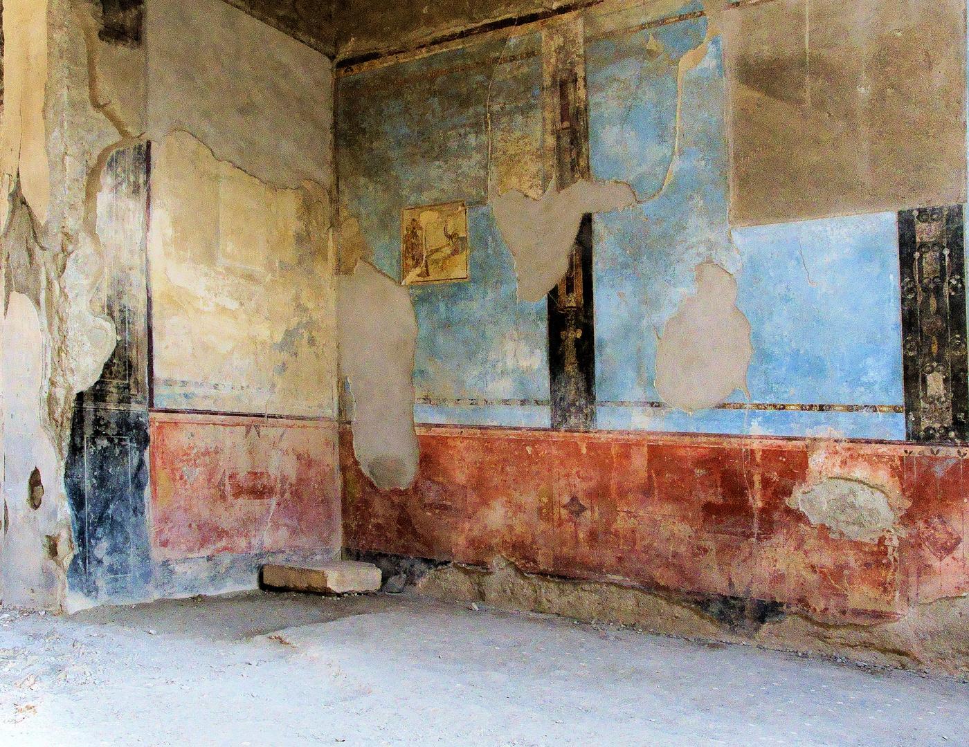 In den Straßen von Pompeji ( Bei Neapel) 2-3