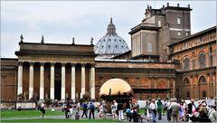 ... in den Vatikanischen Museen ...